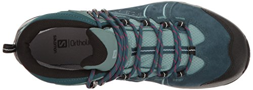 Blau Boot W LTR Women's 2 GTX Mid Pond Reflecting Artic Ellipse Atlantic Salomon Hiking North 8qUzw