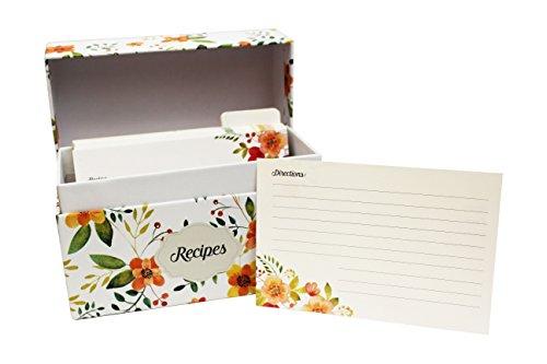 acacia recipe box - 8