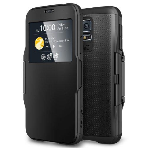 lowest price cee0f 1e164 Galaxy S5 Case, Spigen® [Interactive Window] Samsung Galaxy S5 Case ...