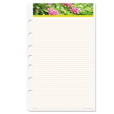 Day-Timer Garden Path Loose-leaf Notepad Refill ()