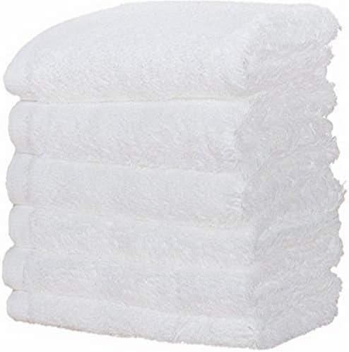 Harbormill White Cotton Wash Cloth 6/RNUM-Pack
