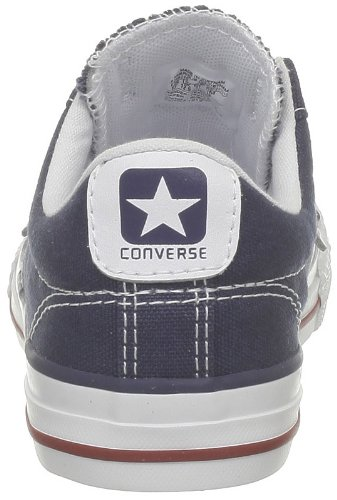 Navy Converse Player Child Unisex White Core Canv Star Trainers Ox nCqrnp8S