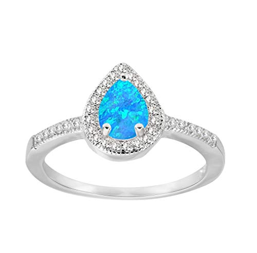 BEST QUALITY TANZANITE FASHION JEWELRY .925 SILVER PLATED RING 8 S23055