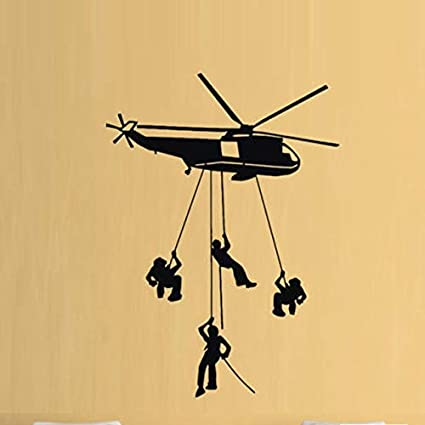Amazoncom Justwalls Helicopter Army Boys Hobby Wall
