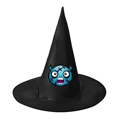 Blue Wounded Devil Black Witch Hats Costume Halloween Party Carnivals Costume Accessory Cap Toys For Girl And Boy