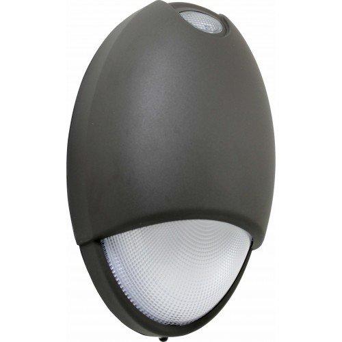 Orbit Industries Decorative Wet Location LED Emergency Light, Bronze Housing