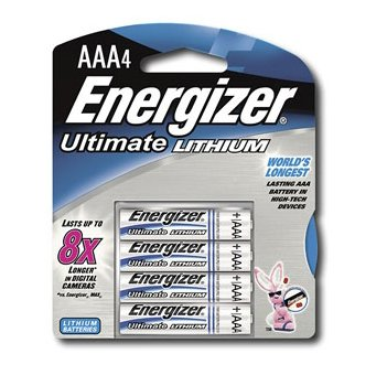Energizer - L91BP-8 - Ultimate Lithium - AA Batteries - 8 Pack
