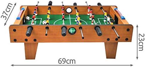 ISO TRADE Juego de futbolín Grande - Juego de fútbol para 18 Jugadores #1564: Amazon.es: Juguetes y juegos