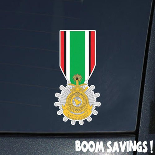 - US Army Medal Kuwait Liberation Medal, Government of Saudi Arabia 6