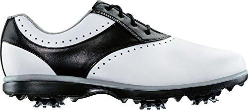 FootJoy Women's eMerge Closeout Golf Shoes 93900 (White/Black, 6.5) by FootJoy