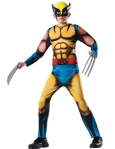 Deluxe Wolverine Costume Child Costume (Medium 8-10)