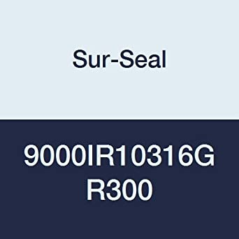 Inc Sur-Seal Teadit 9000IR10316GR300 Spiral Wound Gasket with 316SS Inner Ring 10 Pipe Size x 300# Class Flange x 316SS//Flexible Graphite