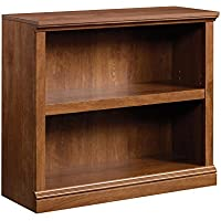 Sauder 420178 2-Shelf Bookcase 2, Oiled Oak