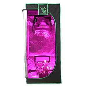 """g-leaf 100% reflectante 600d Mylar ventana tienda de cultivo 16""""x16"""" x48""""No tóxico hidropónico interior habitación"""