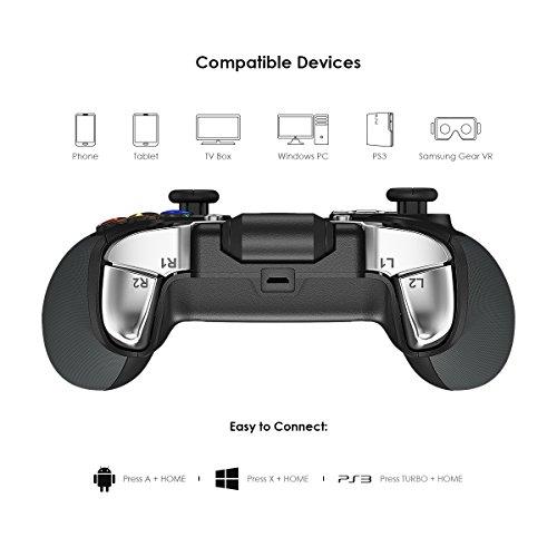 Amazon.com: Wireless Bluetooth Game Controller, GameSir G4 ...