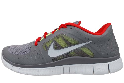 1f0b9a72266 Nike Free Run 3 Cool Grey Red Mens Barefoot Running Shoes 510642-006  US  size 9.5  - Buy Online in Oman.