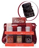 Orly Fired up 3 Pack W/free Cosmetic Bag