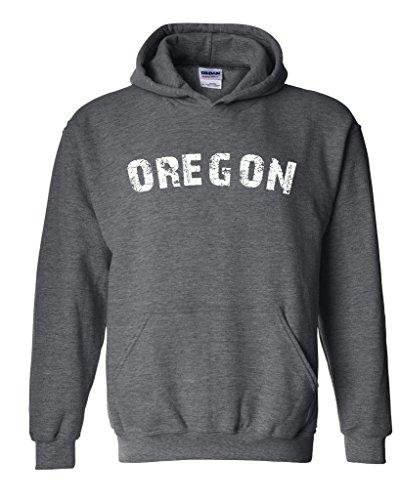 Blue Tees Oregon Home Of Portland Press Herald Fashion Salem Or People Couples Gifts Unisex Hoodie Sweatshirt Medium Dark Heather