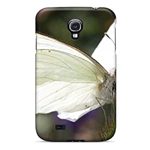 New Fashionable Mwaerke GxOzixa8391mXXXb Cover Case Specially Made For Galaxy S4(white Butterfly)