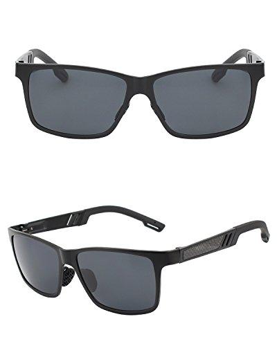 89ad5bf15b9ee6 CGID GD60 Classic Al-Mg Alloy Mens Womens Polarized Sunglasses UV400 ...