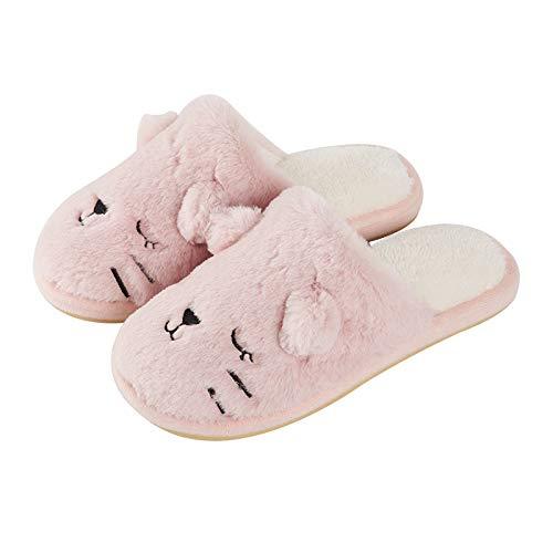 Carino Pantofole Fondo Home Di Size Peluche Spessore White 3 Antiscivolo Mon5f color Paio Coperta Femminile Pink Cotone Impermeabile Casa Invernali Calda v5zCfqw