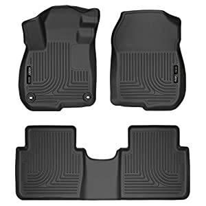 Husky Liners Fits 2017-19 Honda CR-V Weatherbeater Front & 2nd Seat Floor Mats