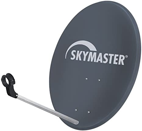 Skymaster - Antena parabólica de acero (60 cm), color antracita (importado)