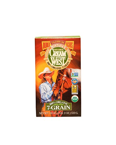 Cream of the West 100% Organic 7-Grain Cereal - 18 oz. Single (Cereal Seven Grain)