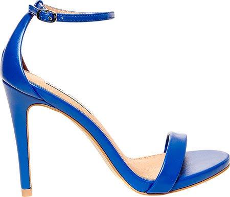 Stecy Plateforme Bleu Steve Madden Sandales Femme SHxpqO5Rwp