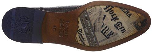 Bugatti 312419011100, Scarpe Stringate Derby Uomo Nero (Nero)