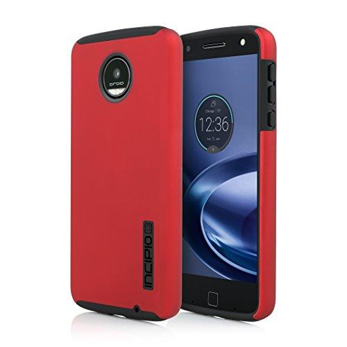 Incipio DualPro Case for Moto Z Force Smartphone - Iridescent Red / Black