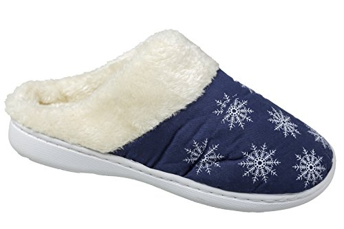 gibra Women's Slippers Blue e90RXcpx3H