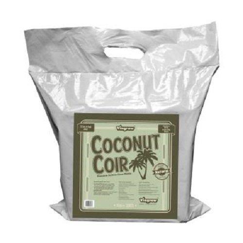 Soilless Media - Viagrow VCCB5-2 11 lb Coconut Coir Block Soilless Grow Media (2 Pack)