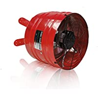 Space Heaters QUIETCOOL AFG PRO-3.0 Automatic Attic Gable Cooling Fan + Thermostat 3013 CFM