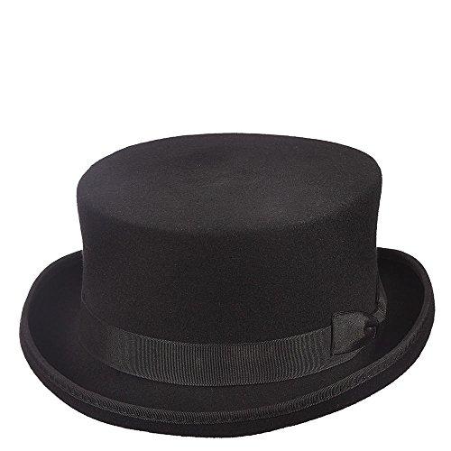Scala Classico Men's Steam Punk Top Hat, Black, M ()
