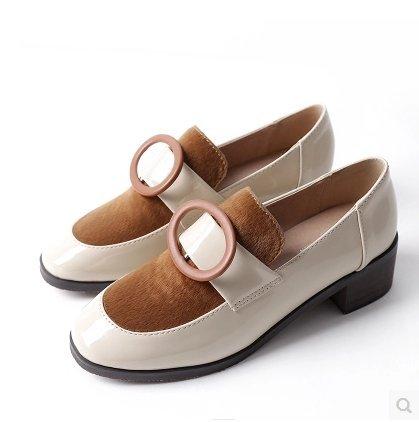 Otoño Con Pequeños Mujer La GAOLIM De Primavera El Pintura Beige Y Durante En Singles Zapatos Femeninos Zapatos Zapatos g7pqX
