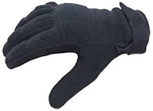 GoGo Gear Women's Motorcycle Gloves (Black, X-Large)