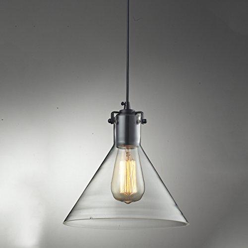 Glass Funnel Pendant Light - 4