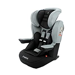 Nania IMAX isofix car seat, group 1/2/3 (9-36kg) with side protection Luxe (grey)