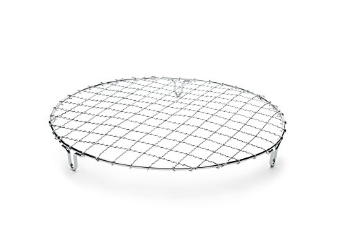 Round Cake Rack - Fox Run 4699 Round Cooling Rack, Iron/Chrome, 10-Inch