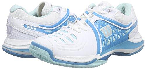 Nvision Menthe De Pour Elite Ultramarine Tennis Femme blanc Multicolore Chaussures Femme Wilson Lgre Glace 4xvqHpd4
