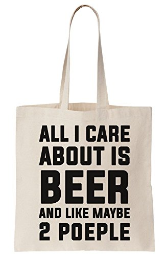 People And 2 About Beer Is Tote Like Bag Canvas All Maybe Care I Hqnxg1wz4z