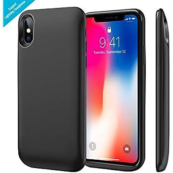 Amazon.com: iPhone X Battery Case Qi Wireless Charging