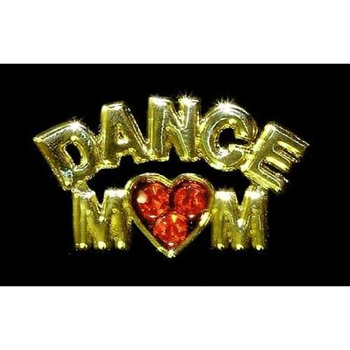 #13471 Rhinestone Casted Dance Mom Pin