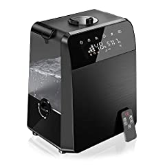 TTLIFE Humidifiers, Warm and Cool Mist Ultrasonic Humidifiers (5.5L), Vaporizer with Hygrometer and Remote, Night Light, Customized Humidity, Germ Free, Ultra Quiet, 2-Year Warranty Specification:Power Supply: AC 120V, 60HzRated Power: 110WW...