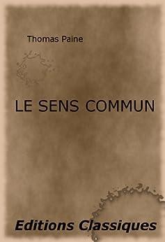 le sens commun thomas paine pdf