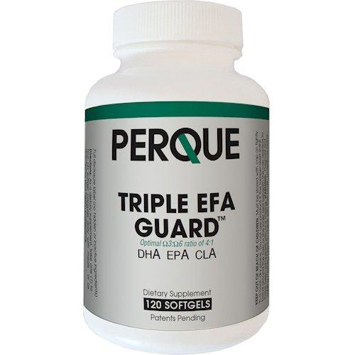 Triple EFA Guard – 120 Softgels by Perque