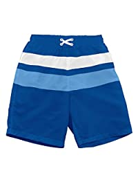 I-Play. Baby Boys' Colorblock Trunks with Built-in Reusable Absorbent Swim Diaper