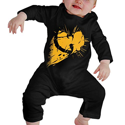 TiaKudy Wu Tang Clan Baby Boys' Girls' Long Sleeve Romper Bodysuits Jumpsuit Clothes Overalls One-Piece ()