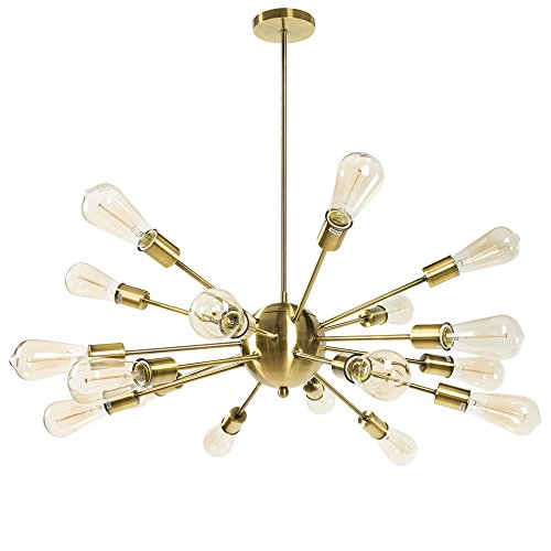 BIG PROMO LINSGROUP Sputnik Chandelier 12/18 Light
